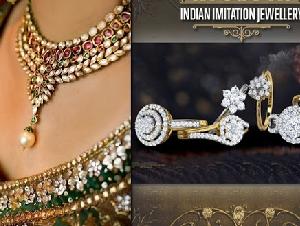 Artificial Bridal Jewellery   Imitation Jewellery Manufacturers in Mumbai, India - Indian Imitation Jewelry