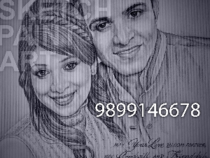 SKETCHES, PAINTINGS, CARICATURES, VECTOR IMAGES MADE TO ORDER-INDIA