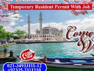 Turkey Visit Visa (TRP) with job